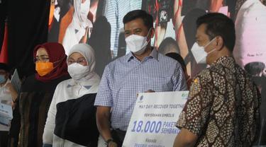 May Day Era Pandemi, BPJS Ketenagakerjaan Berikan Bantuan 18 Ribu Sembako Kepada Pekerja