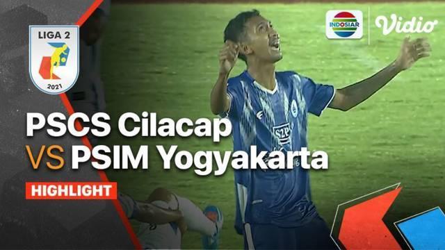 Berita video highlights Liga 2 2021/2022 pertandingan antara PSCS Cilacap kontra PSIM Yogyakarta pada Minggu, (26/9/2021) malam hari WIB.