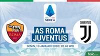 Serie A - AS Roma Vs Juventus (Bola.com/Adreanus Titus)