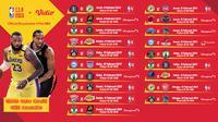 Pertandingan NBA 2020/2021 pekan kedelapan dapat disaksikan melalui platfrom streaming Vidio. (Dok. Vidio)