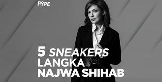 5 Koleksi Sneakers Najwa Shihab yang Curi Perhatian