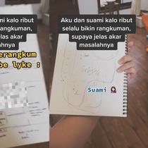 Begini tips dan trik cara atasi pertikaian dalam rumah tangga (@vinasyahr/tiktok.com).