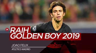 Berita Video Joao Felix Raih Golden Boy Award 2019