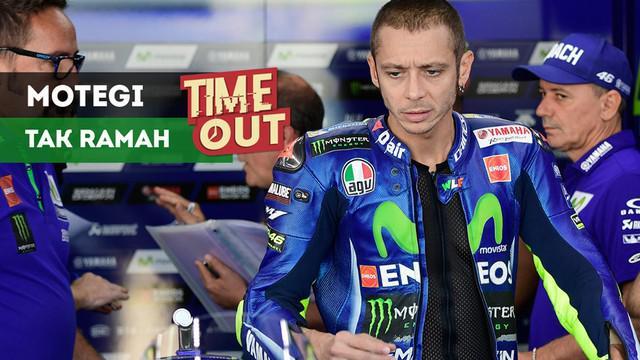 Pebalap Movistar Yamaha, Valentino Rossi., memiliki catatan yang kurang baik pada balapan MotoGP Jepang yang digelar di Sirkuit Motegi.