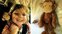 Pengumuman kehilangan boneka monyet akhirnya bersambut baik. Berkat jejaring sosial, anak kecil beserta 'monyetnya' dipersatukan kembali.