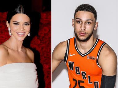 Kendall Jenner dan Ben Simmons memang kini tengah menikmati hubungan mereka yang semakin hari sepertinya semakin lengket saja. (People)
