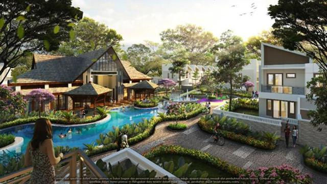 Sold Out 500 Unit Klaster Amagriya Dibuka Klaster Flower Garden Hot Liputan6 Com