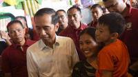 Presiden Jokowi kehilangan dua sertifikat tanah miliknya di Solo.(Liputan6.com/Fajar Abrori)