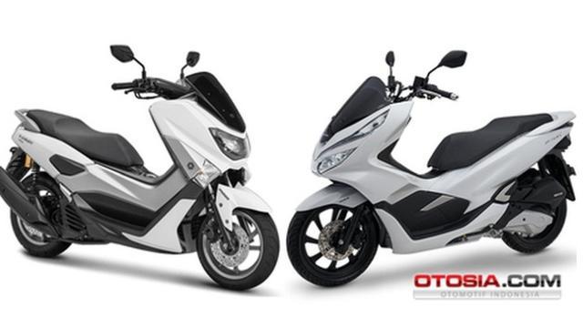 Harga Sepeda Motor Nmax 155 Skuter Premium Dengan Tampilan