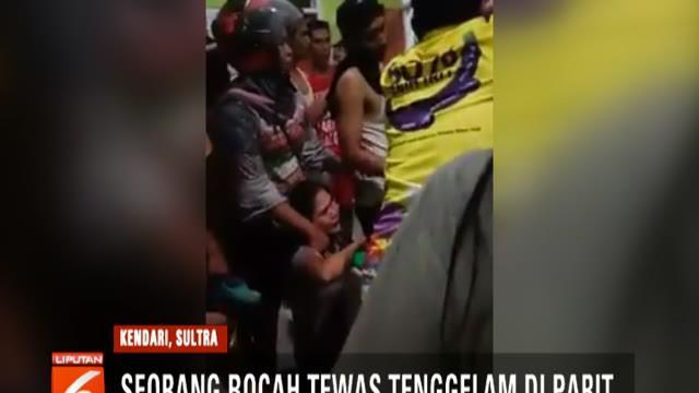 Dalam video, korban bernama Kenzi ini terlihat sudah lemas dan langsung dibawa warga ke puskesmas terdekat. Namun, sayangnya nyawa bocah malang itu tak dapat diselamatkan.