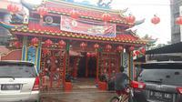 Klenteng Hok Lay Kiong Bekasi, Jawa Barat. (Liputan6.com/Bam Sinulingga)