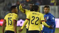 Brasil vs Kolombia (AFP PHOTO / NELSON ALMEIDA )