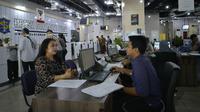 Pemkot Surabaya menyediakan konter mengurus Hak Kekayaan Intelektual (HKI) di Gedung Siola sejak awal 2019. (Foto: Liputan6.com/Dian Kurniawan)