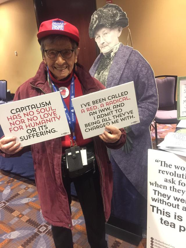 Bea Lumpkin, Nenek Berusia 102 Tahun di Chicago