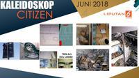 Banner Kaleidoskop Citizen6 Juni 2018. (Liputan6.com/Triyasni)