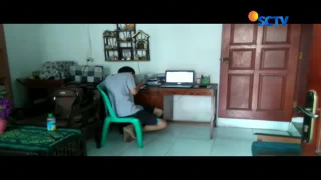 Kasus bullying yang dialaminya seolah tak membuatnya trauma. Farhan tetap fokus belajar di rumahnya di Jalan Kemenyan, Ciganjur, Jakarta.