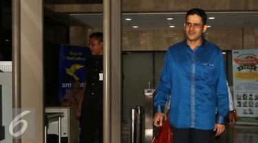 20160929- Nazaruddin Dipanggil KPK Terkait e-KTP-Jakarta- Helmi Afandi