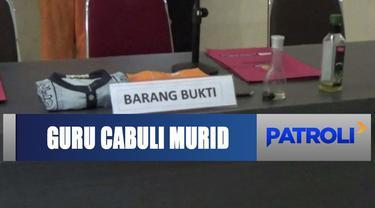 Seorang guru agama di Barito Kuala, Kalimantan Selatan, cabuli 15 siswanya dengan dalih memberi amalan.