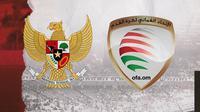 Indonesia vs Oman. (Bola.com/Dody Iryawan)