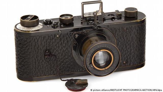 Kamera Leica yang pecahkan rekor termahal di dunia (Westlicht Photohraphica Auction/APA/dpa)