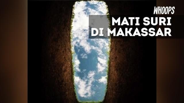 Saat akan dikuburkan, tangan jenazah tiba-tiba bergerak dan berbicara kepada petugas penguburan.