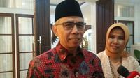 Ketua OJK WImboh Santoso gelar open house pada Rabu, 5 Juni 2019 (Foto:Merdeka.com/Dwi Aditya Putra)