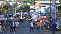 Rekayasa Pasar Pinasungkulan Manado, upaya tetap menjaga perputaran roda ekonomi rakyat di tengah pandemi Covid-19.