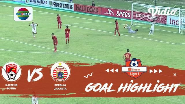 Berita video gol-gol terakhir Persija Jakarta saat menghadapi Kalteng Putra pada laga pamungkas Shopee Liga 1 2019, Sabtu (21/12/2019).