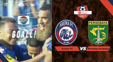 Berita video momen gol fantastis pemain Arema FC, Dendi Santoso, saat menghadapi Persebaya Surabaya dalam lanjutan Shopee Liga 1 2019, Kamis (15/8/2019).
