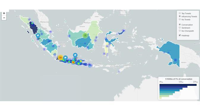 Analisis Media Sosial DP 0 Persen (4) via Trendsmap