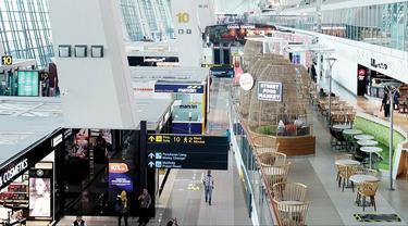 Bandara Soetta Makin Modern dan Canggih, Kini Punya Robot Pembersih Lantai Terminal