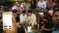 Prabowo Subianto di Lombok (Tim Prabowo Subianto)
