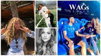 Izabel Kovacic, istri gelandang Timnas Kroasia, Mateo Kovacic. (Instagram)