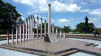 Tugu Sukarno di Palangka Raya (Liputan6.com/ Nafiysul Qodar)