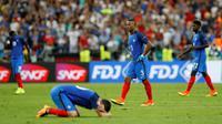 Air mata Timnas Prancis (Reuters)