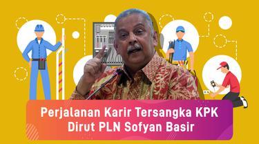Perjalanan Karir Tersangka KPK Dirut PLN Sofyan Basir