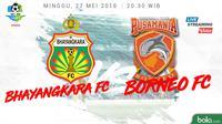 Jadwal Liga 1 2018, Bhayangkara FC Vs Borneo FC. (Bola.com/Dody Iryawan)