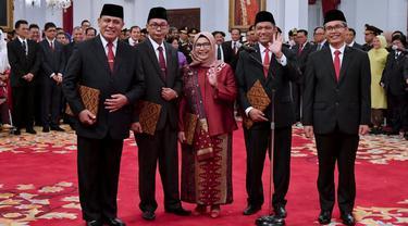Presiden Jokowi Resmi Lantik Pimpinan KPK Periode 2019-2023