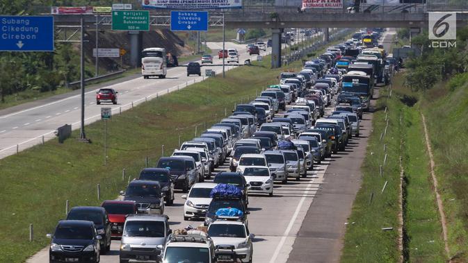 Catat Titik Rawan Kemacetan Arus Mudik Lebaran 2018 Ini