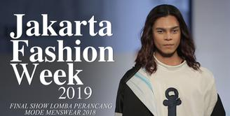Final Show Lomba Perancang Mode Menswear 2019