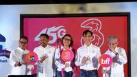 Jajaran direksi Hutchison Tri Indonesia saat peluncuran paket Dobel Berkah Ramadan. Liputan6.com/Jeko I.R.