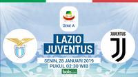 Serie A: Lazio Vs Juventus (Bola.com/Adreanus Titus)
