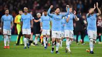 5. Manchester City memiliki rating bintang lima dengan overall rating 85. (AFP/Glyn Kirk)