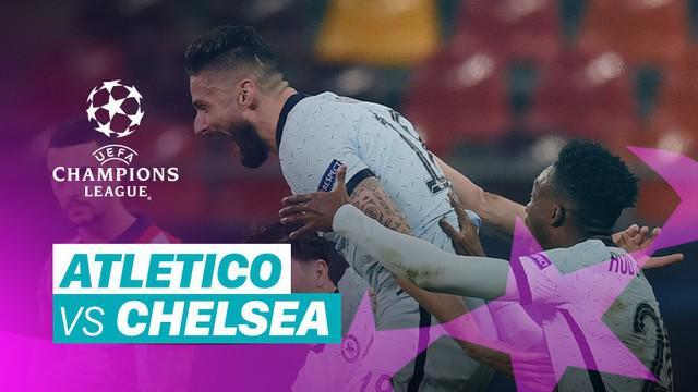 Berita video momen-momen penting yang terjadi pada laga Atletico Madrid melawan Chelsea di leg I babak 16 Besar Liga Champions 2020/2021, Rabu (24/2/2021) dinihari WIB.
