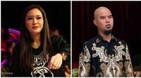 Maia Estianty-Ahmad Dhani. (Bambang E. Ros/Bintang.com Adrian Putra/Bintang.com)