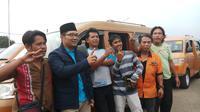 Cagub Ridwan Kamil menyambangi Kota Depok, Jawa Barat (Liputan6.com/ Ady Anugrahadi)