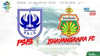 Liga 1 2018 PSIS Semarang Vs Bhayangkara FC (Bola.com/Adreanus Titus)