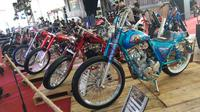 Seri keenam Suryanation Motorland Battle berlangsung di Parking Lot Phinisi Point, Makassar, Sulawesi Selatan, Sabtu (8/9/2018). (Septian/Liputan6.com)