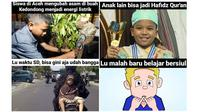 Meme beda prestasi anak seumuran (Suumber: Instagram/sejiwatinja)
