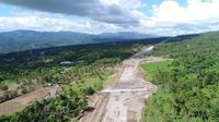 Progres fisik secara total Jalan Tol Manado-Bitung telah mencapai 13,21 persen. (Dok Jasa Marga)